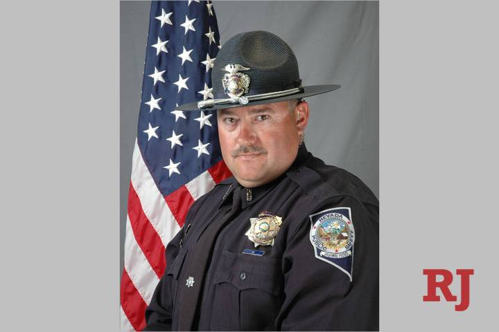 Nevada Highway Patrol Sgt. Ben Jenkins. The 47-year-old man was fatally shot on March 27, 2020, ...