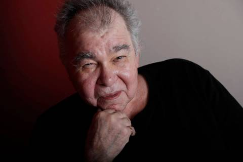 In this June 20, 2017, photo, John Prine poses in his offices in Nashville, Tenn. (AP Photo/Mar ...