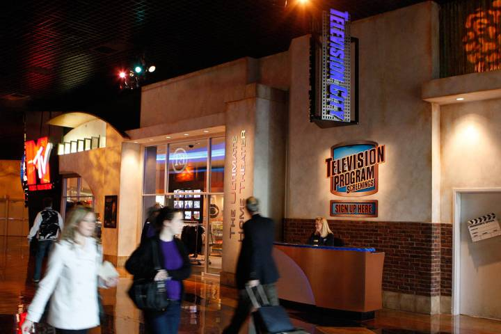CBS Television City inside the MGM Grand provides audience research on TV series. (Las Vegas Re ...