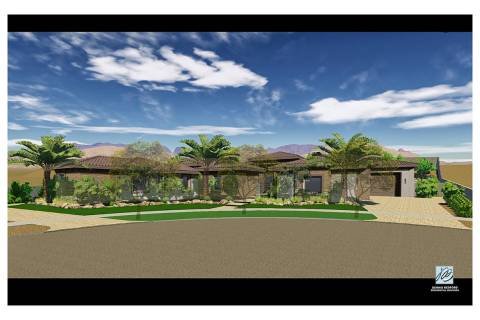 This artist's rendering shows what former NBA player Jordan Farmar's new home in Southern Highl ...
