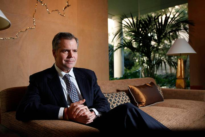 Jim Murren, chairman and CEO of MGM Resorts International. (Las Vegas Review-Journal file)