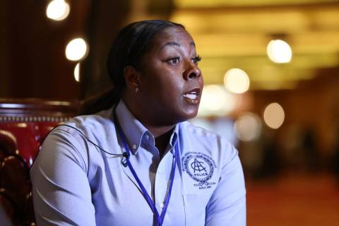 Former Henderson Police Department Chief LaTesha Watson has been hired as the director of publi ...