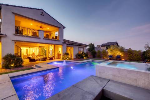 Raiders safety Lamarcus Joyner closed on this Southern Highlands 4,119-square-foot home on Marc ...