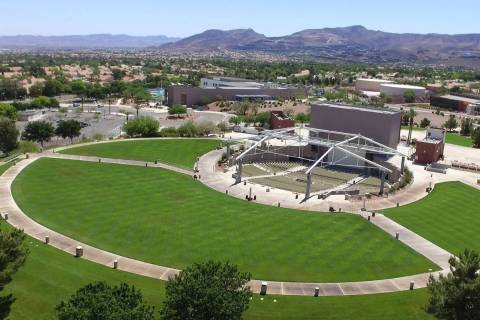 The Henderson Pavilion photographed on Friday, May. 15, 2020, in Henderson. Henderson residents ...