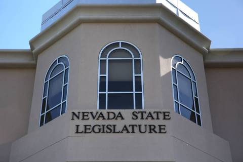 The Nevada Legislative Building is pictured in Carson City. (David Guzman/Las Vegas Review-Jour ...