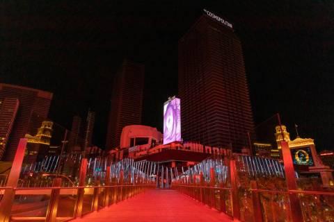 The Cosmopolitan of Las Vegas is closed amid coronavirus nonessential business closures on Wedn ...
