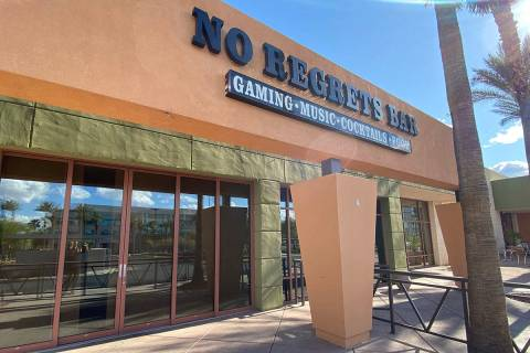 No regrets Bar will not reopen after the COVID crisis. (Al Mancini/Las Vegas Review-Journal)