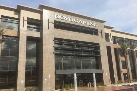 Casino operator Boyd Gaming Corp. (Eli Segall/Las Vegas Review-Journal)