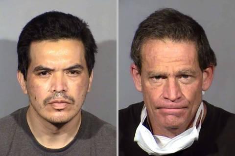 Sergio Bautista, left, and Eric Golden. (Las Vegas Metropolitan Police Department)