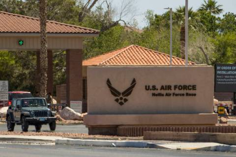 Nellis Air Force Base will enter the third phase of its reopening on Monday, June 1, 2020, allo ...