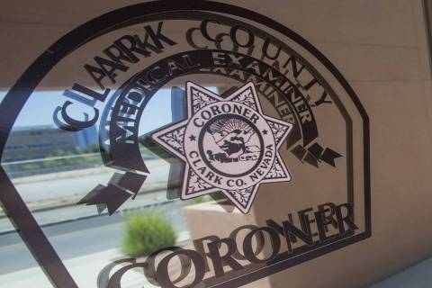 The Clark County coroner's office at 1704 Pinto Lane in Las Vegas. (Review-Journal file photo)