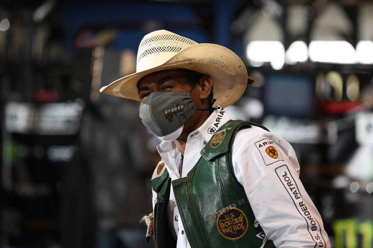 Keyshawn Whitehorse during the second round of the Guthrie Las Vegas Invintational Unleash The ...