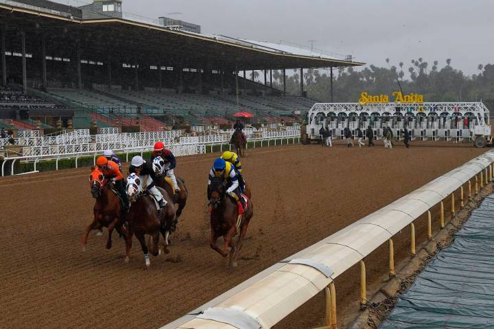 Santa Anita Park in Arcadia, Calif., entering its fourth week of operations, will feature seven ...
