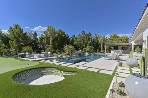 Champion golfer Mark O'Meara purchased this new Southern Highlands home for $2.52 million. It ...