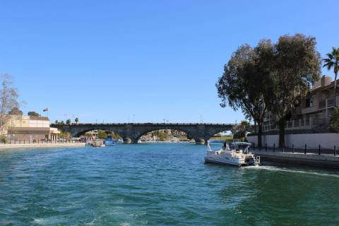 The London Bridge in Lake Havasu City, Ariz., was purchased by the townÂ's founder ...