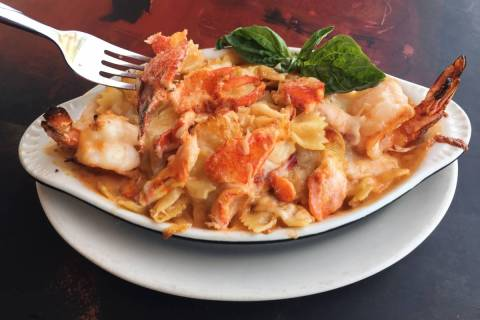 Lobster mac and cheese will be a Father's Day brunch special at Pasta Shop Ristorante & Art Gal ...