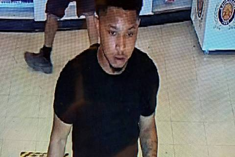 Police released this picture of a suspect in a strong-arm robbery that took place June 4 at a b ...