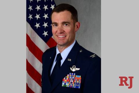 Col. Todd Dyer is the commander of the 99th Air Base Wing at Nellis Air Force Base. (Nellis Air ...