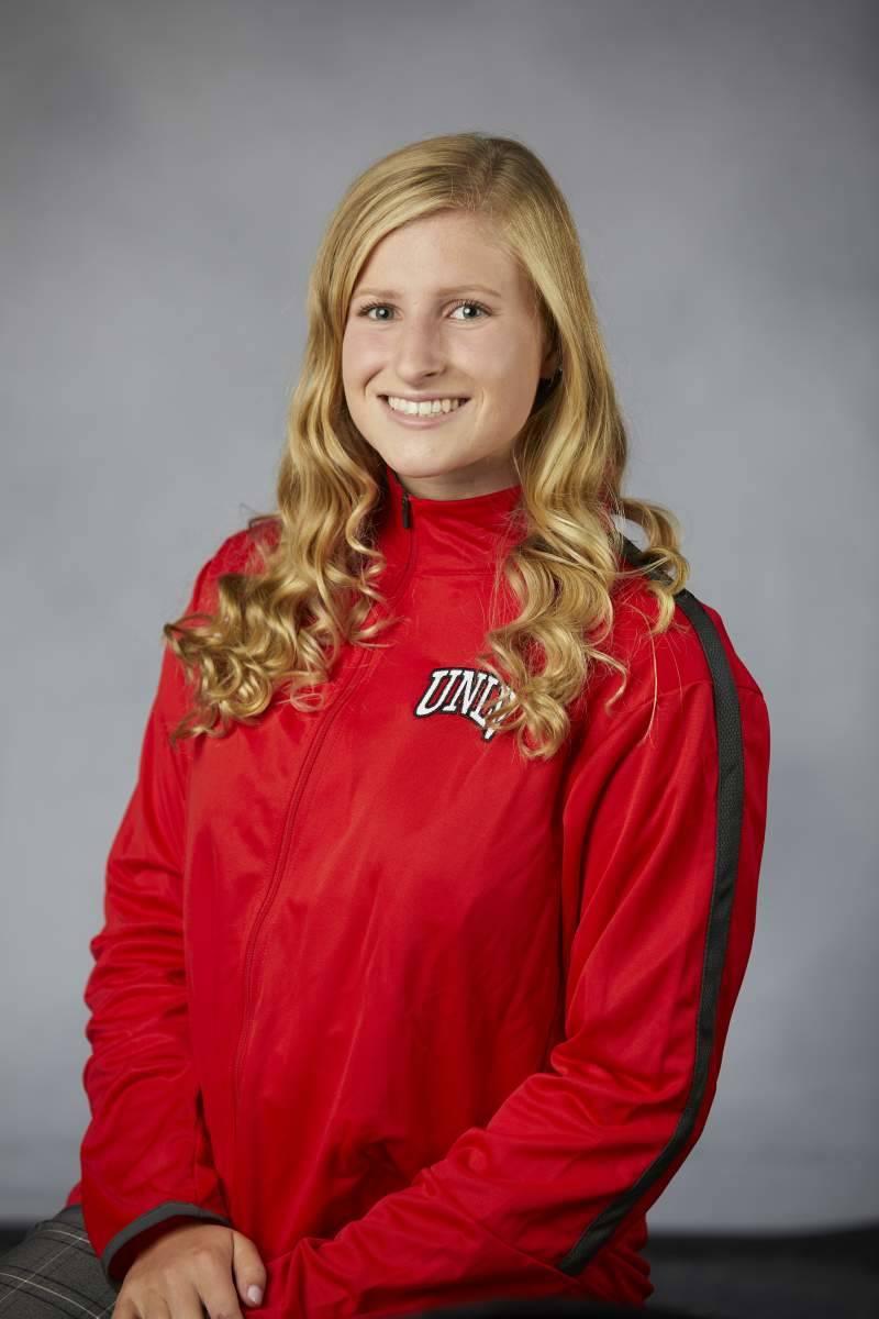 UNLV sophomore swimmer Jacklyn Scheberies. Courtesy UNLV Athletics