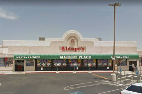 Aldape's Marketplace, which closed in April 2020, is seen in a screenshot. County officials sai ...