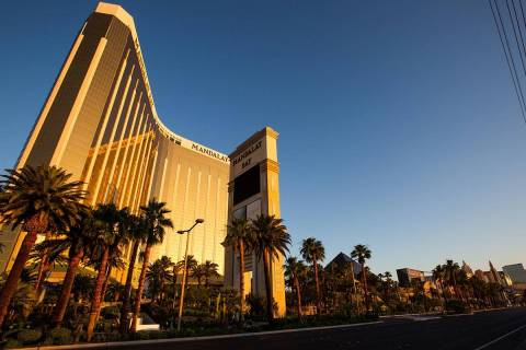 The high temperature in Las Vegas will be around 107 on Thursday, June 25, 2020, according to t ...
