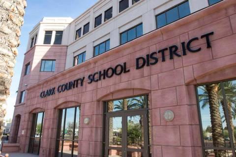 Clark County School District (Las Vegas Review-Journal file photo)
