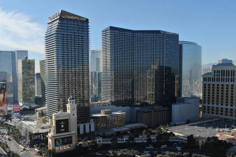 The Cosmopolitan of Las Vegas has reopened its buffet for limiuted service.(Michael Quine/Las V ...