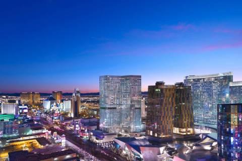 A view of Waldorf Astoria Las Vegas (courtesy)