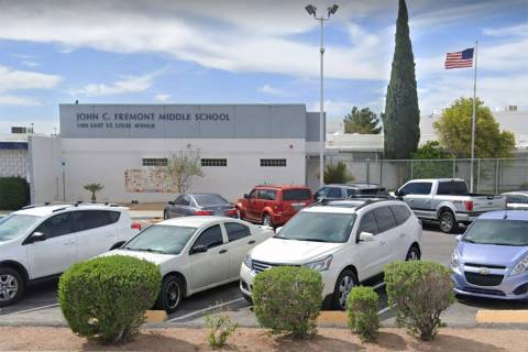 Fremont Middle School is shown in a screenshot. (Google)