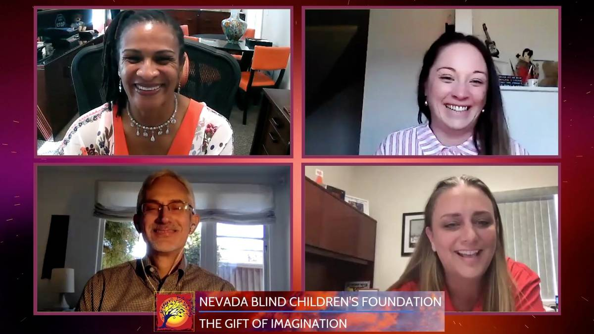 The Nevada Blind Children's Foundation wins the Gift of Imagination. (The Rogers Foundation)