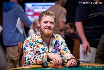 Nathan Gamble is seen in an undated file photo. (Katerina Lukina/PokerNews)