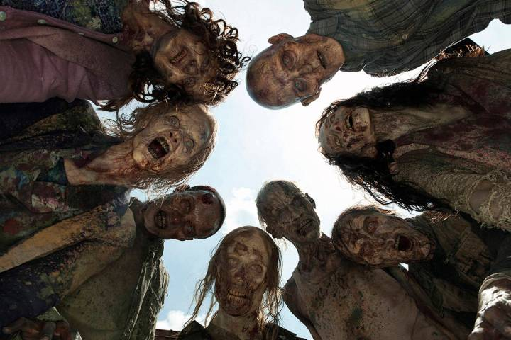 """If zombies, like these walkers from """"The Walking Dead"""" should rise, Nevada is better positioned ..."""