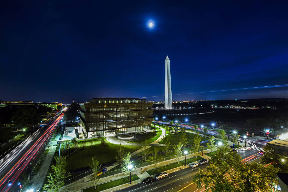The new National Museum of African American History and Culture displays the celebration and so ...