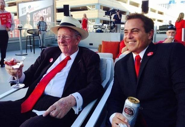 Oscar Goodman was a favorite guest of Bart Torres, who spent more than 20 years on Las Vegas ra ...