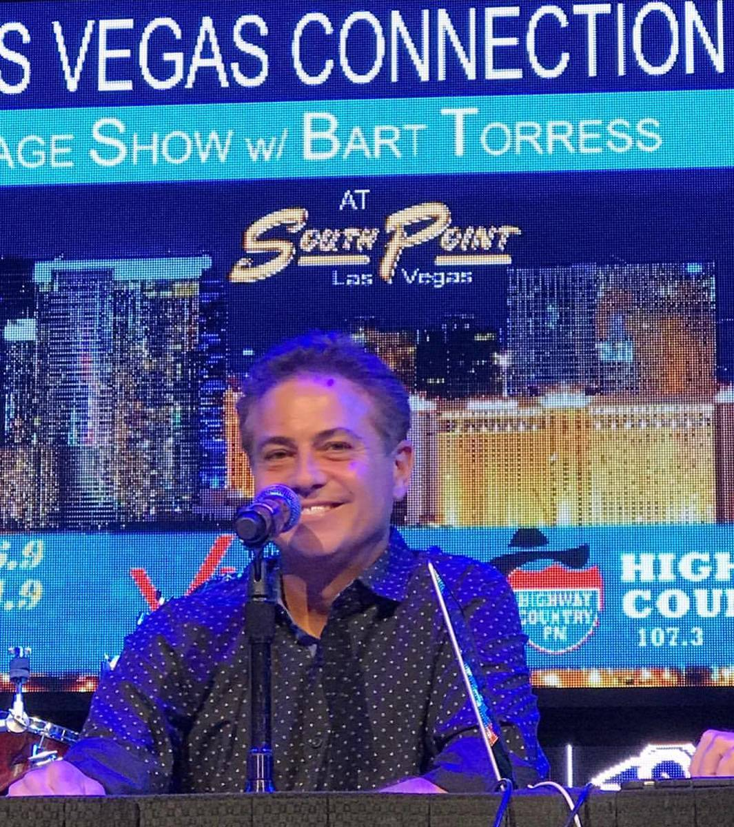 """Bart Torres is shown at South Point hotel-casino hosting """"Highway Vibe"""" in 2015. (Bart Torres/F ..."""