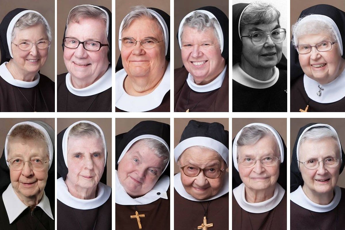 Twelve nuns at a Roman Catholic convent in Livonia, Michigan, died of COVID-19 complications wi ...