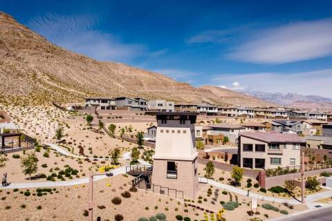 Summerlin ranked No. 4 in the midyear U.S. master-planned community sales rankings published by ...