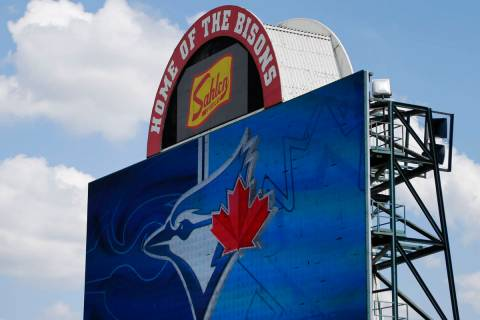 The Toronto Blue Jays will play their 2020 home games at Sahlen Field, their Triple-A affiliate ...