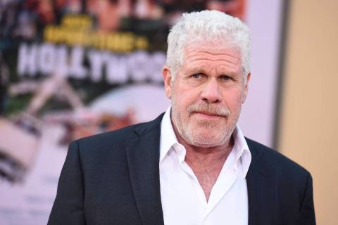 "Ron Perlman arrives at the Los Angeles premiere of ""Once Upon a Time in Hollywood"" at ..."