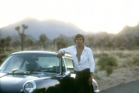 Jay Sebring at Joshua Tree National Park in California. (DiMaria Family Archives)