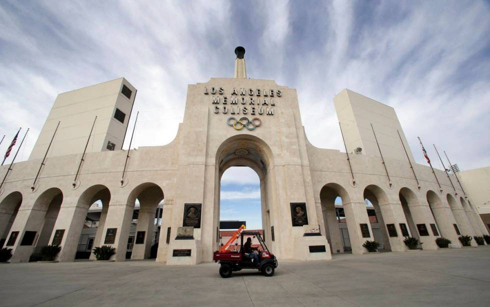 Built in 1921 as a memorial to the veterans of World War I and for USC football, Los Angeles Me ...