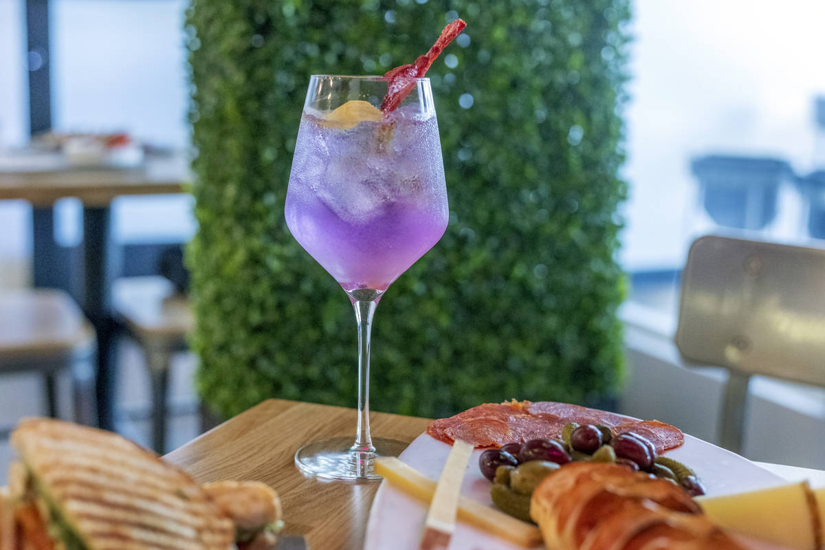 Try light bites while sipping a cocktail, mocktail, beer or wine at The Local at the District i ...