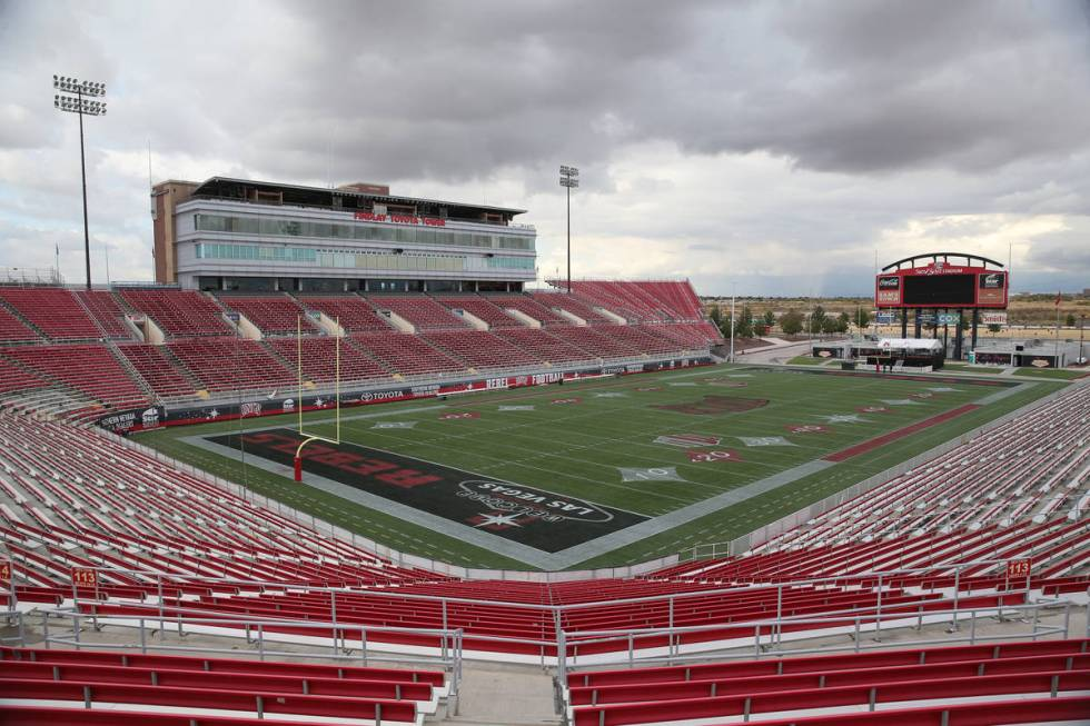 Sam Boyd Stadium in Las Vegas, Thursday, Nov. 21, 2019. (Erik Verduzco / Las Vegas Review-Journ ...