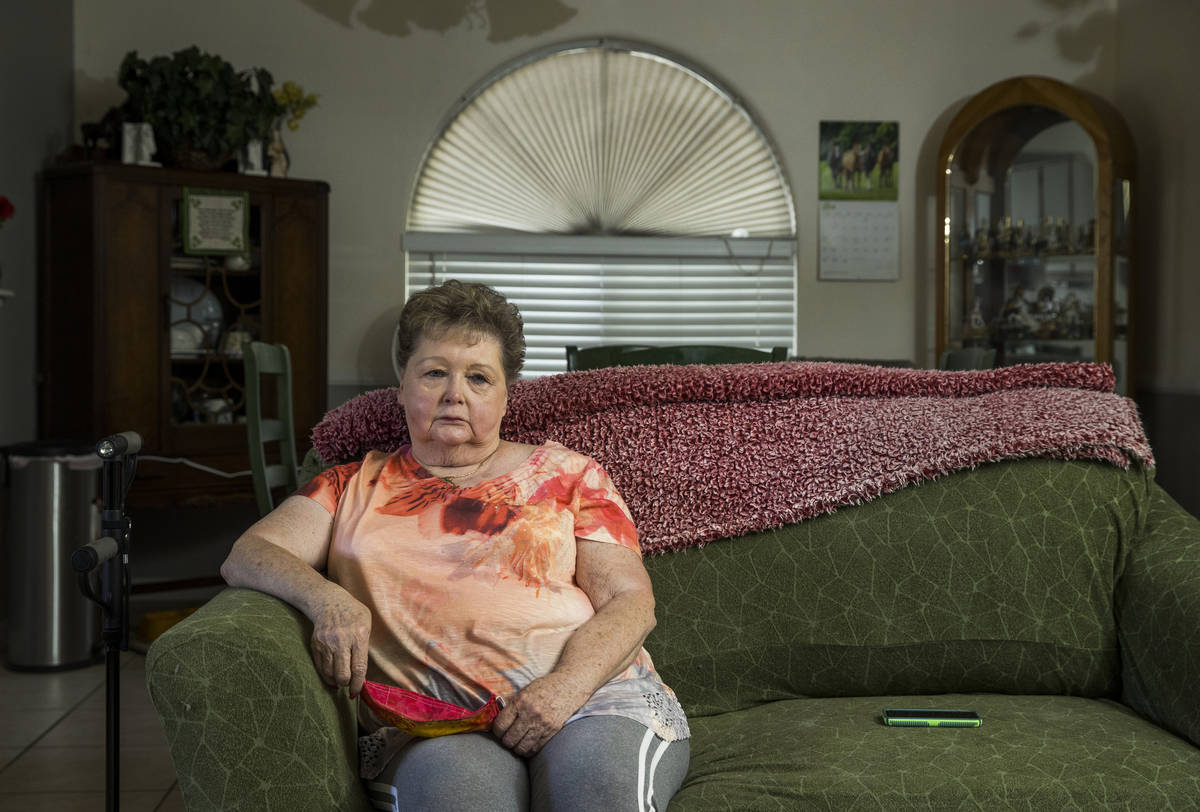 Geraldine Garcia talks about her stay at The Heights of Summerlin for rehabilitation due to a b ...