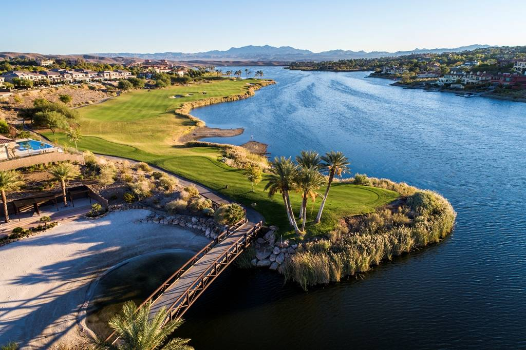 Reflection Bay Golf Club is at Lake Las Vegas. The course is home to several tournaments year-r ...