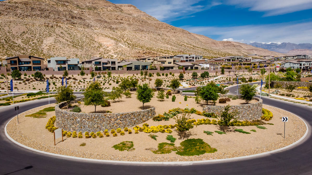 Summerlin is on the western edge of the valley. (Summerlin)