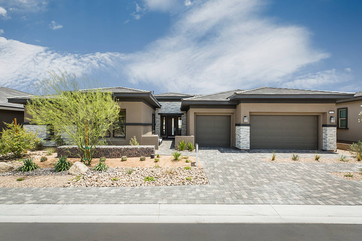 Scotts Pine in Stonebridge in Summerlin has about 20 sites left of 103. (Richmond Homes)