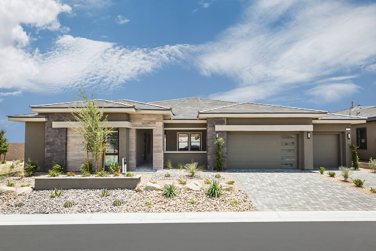 Scotts Pine in Stonebridge is a luxury new home community in Summerlin. (Richmond Homes)