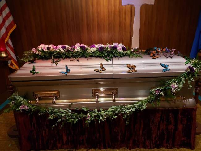 After a 25-day hospitalization, Maria Urrabazo died on June 3, 2020, from COVID-19. She was lai ...