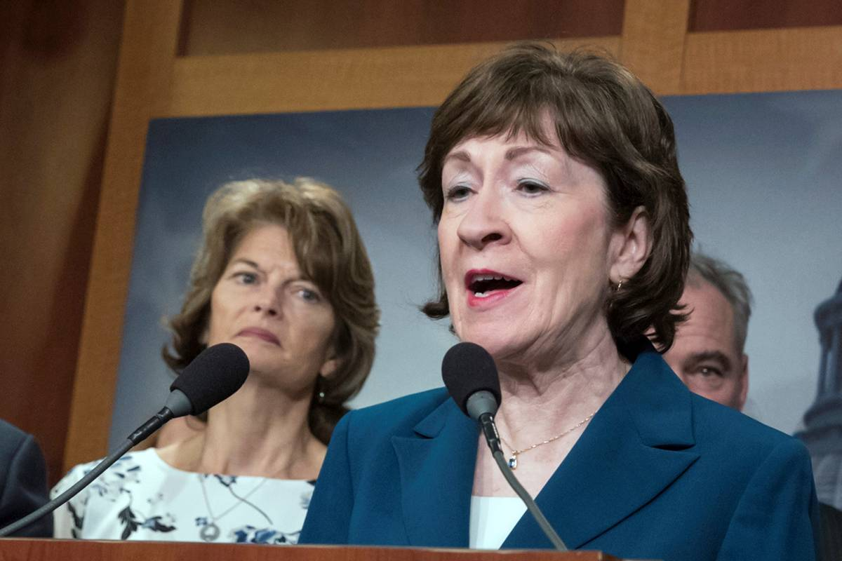 Sen. Susan Collins, R-Maine. (AP Photo/J. Scott Applewhite)